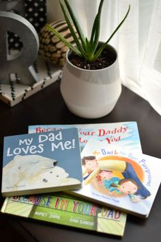 first father's day gift idea: daddy books #fathersday