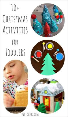 Fun Christmas-themed activities for toddlers to enjoy this holiday season.