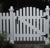 Picket Fence Gate#gardenia #gardena #landscapedesign #woodde...- Picket Fence Ga...#fence #gardena #gategardenia #landscapedesign #picket #woodde