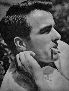 Montgomery Clift Smoking was cool.... ;)