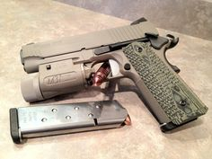 Sig Sauer Scorpion - I love how the Scorpian turned out. Shooting Guns, Shooting Range, Weapons Guns, Guns And Ammo, Rifles, Colt M1911, Revolvers, 1911 Pistol, Sig 1911