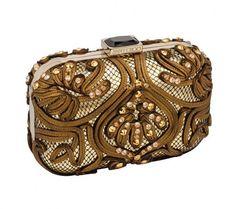 Minaudiere con cristalli dalla collezione autunno inverno 20132014 di borse Jimmy Choo