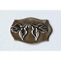 Eticheta metalica cu porumbei 2 Cookie Cutters, Metal