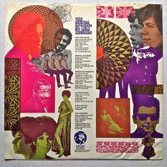 1960s LP record vintage vinyl album inner sleeve
