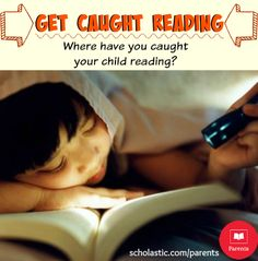 May is Get Caught Reading Month! Celebrate with these fun ideas.