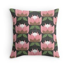 MCM Protea #retro #vintage Australian #flower #pattern #homedecor #interiordesign