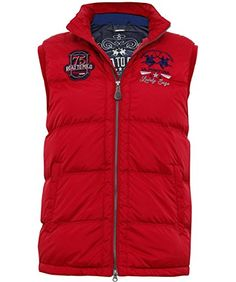 "Add a dose of designer-led character to your downtime ventures with the La Martina down gilet.   	 		 			 				 					Famous Words of Inspiration...""Almost all quality improvement comes via simplification of design, manufacturing... layout, processes, and...  More details at https://jackets-lovers.bestselleroutlets.com/mens-jackets-coats/vests/product-review-for-la-martina-mens-quilted-down-gilet-red/"