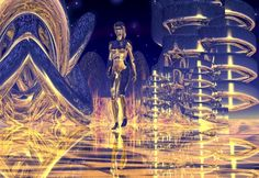 "Bryce, Series ""Otherworld"", 1999/2000 Digital Art"