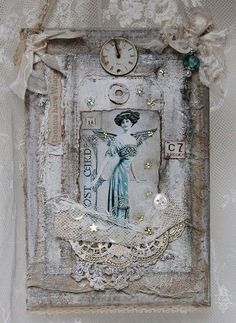 altered bottles shabby chic - Google Search
