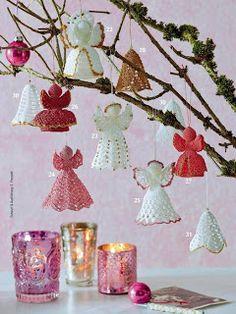 Croche e Pontos: Natal....algumas idéias