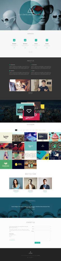 Best One Page WordPress Theme Available #wordpress #theme #webdesign #onepage http://themeforest.net/item/oneup-one-page-parallax-retina-wordpress-theme/5901846?ref=Lynnais