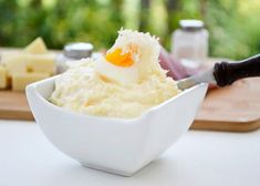 feiner cremiger Eierkren