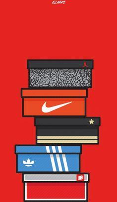 Digital art / art - Source by mcandrewvwada ideas sneakers Sneakers Wallpaper, Shoes Wallpaper, Graffiti Wallpaper, Nike Wallpaper, Cartoon Wallpaper, Converse Wallpaper, Wallpaper Art, Bape Wallpaper Iphone, Hypebeast Iphone Wallpaper