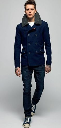 Love the jacket, especially the color. The collar is a tough one though.