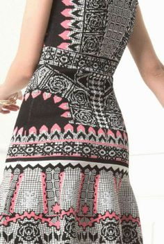 patternprints journal: PATTERNS AND PRINTS FROM PRE-SUMMER 2015 WOMAN FASHION COLLECTIONS / Temperley London