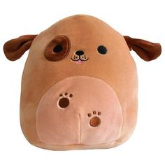 Tips And Tricks For Training Your Dog Kawaii Plush, Cute Plush, Cute Stuffed Animals, Cute Animals, Dog Room Decor, Animal Bag, Dog Rooms, Cute Pillows, Brown Dog