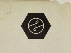 Creative Logo, Icon, Curtis, and Jinkins image ideas & inspiration on Designspiration Typography Logo, Logo Branding, Typography Design, Logos, Graphic Design Posters, Graphic Design Illustration, Roots Logo, Hexagon Logo, Circular Logo
