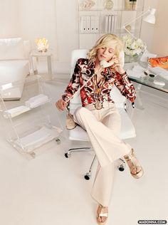 Madonna. Versace Campaign By Mario Testino