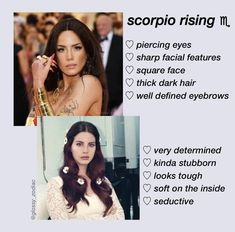 Black Outfit Grunge, Scorpio Ascendant, Planet Signs, Square Faces, Dark Hair, Eyebrows, Piercing, Facial, Eyes
