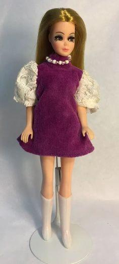 Vintage Topper Dawn Doll Strawberry Blonde/P11A In Cindy Joy Fashion w/Boots