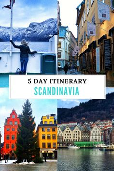 5 Day Scandinavia Itinerary. Click the pin to read the post from www.flirtingwiththeglobe.com