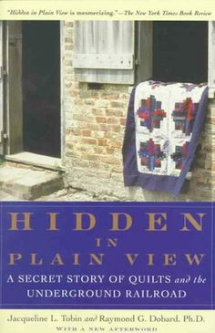 """It's a mystery embedded in quilts. Slaves used secret messages in handmade quilts, a language called """"the Charleston code,"""" in order to figu..."""