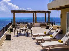 Villa del Palmar Cancun Luxury Beach Resort & Spa Penthouse balcony