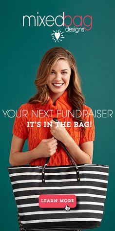 MixedBag makes your fundraiser look goood! More here > http://fundraiser.mixedbagdesigns.com/