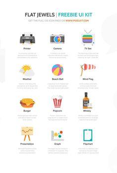 20 packs d'icones gratuits pour Juillet | Blog du Webdesign