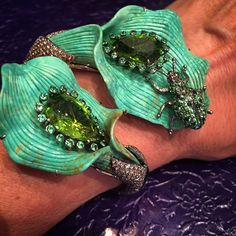 The Amazon Forest has inspired the ever creative #LydiaCourteille #Couture2015…