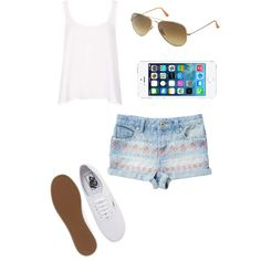 """Cute Summer"" by bri-peace on Polyvore"