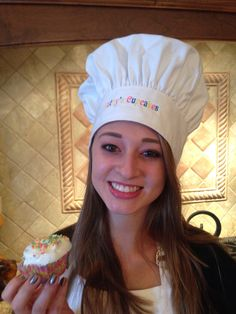 Personalized Chef's Hat in White by ExtraTouchGifts on Etsy
