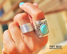 Tube Silver Ring  Silver ring  Wide Band Ring Chunky  by TinyBox12, $19.95