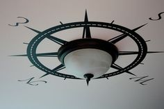 Light Compass... if I ever have a house that actually has a light in the ceiling other than in the bathroom or kitchen