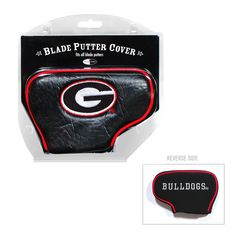 Georgia Bulldogs Blade Putter Cover