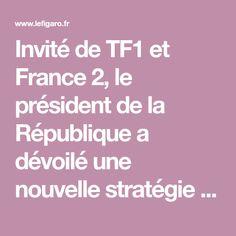 Invité de TF1 et France 2, le président de la République a dévoilé une nouvelle stratégie pour tenter de contenir la deuxième vague épidémique, notamment en Île-de-France et dans les 8 métropoles les plus touchées. France 2, Health, Ile De France, Health Care, Salud