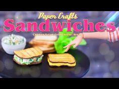 DIY - How to Make: Doll Chicken Salad Sandwich & Grill Cheese Sandwich Barbie Dolls Diy, Barbie Food, Doll Food, Diy Doll, Barbie Stuff, Doll Stuff, Salad Sandwich, Chicken Sandwich, Chicken Salad