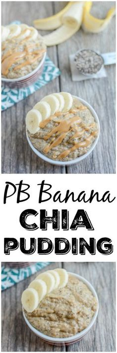 This four-ingredient Peanut Butter Banana Chia Pudding makes an easy, kid-friendly snack. It's packed with protein and healthy fats and is easy to prep ahead of time.