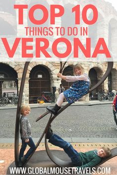 Ten of our favourite things to do in Verona, Italy with kids - plenty of fun and a few historical sights too. Verona is a wonderful city for families, find out why by clicking on the link here.