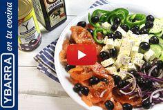 Receta Ensalada griega Ybarra - Ybarra en tu cocina