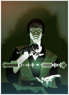 Ever wonder how Luke built that new lightsaber in RotJ?  Frank Stockton has an idea.