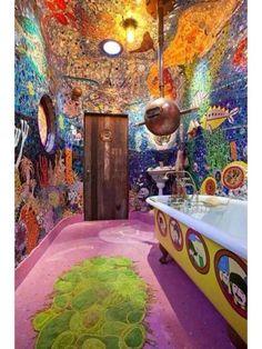 Lovely bathroom idea.