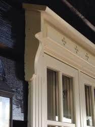 Bilderesultat for vindusomramming Painted Window Frames, Red Houses, Exterior Paint Colors, Bali, Home Reno, Log Homes, Tiny House, Windows, Doors