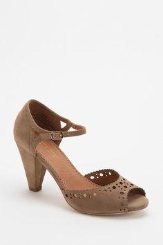 Restricted Denver Peep-Toe Heel