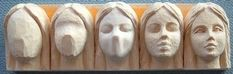 Tutorial how to Step by step carving female face: