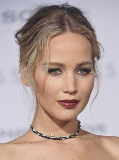 Jennifer Lawrence at the 'Passengers' Premiere at the Village Theater in California on December 15, 2016