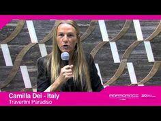 Marmomacc 2012: Camilla Dei interview (Travertini Paradiso, Italy)