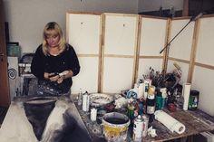 Ich arbeite weiter an meinen Neusiedlerseebildern 😉#neusiedlersee #atelier #künstler #kunsthandwerk #malerei #art #artist #artshow #artwork #artgallery #artcollective #modernart #contemporaryart #abstract #abstract_art #kunst #kunstwerk #illustration #painting #mixedmedia #mixedmediapainting #expressionismus #instaart #abstractart #artistsoninstagram #art_intro #art_seeking  #künstler #atelier #artoftheday #creativeuprising Home Appliances, Illustration, Atelier, Lake Pictures, Expressionism, Gift Crafts, Artworks, Abstract, Painting Art