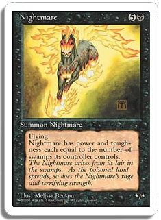 it was the artwork on this card that assured I would love MTG forever.  Magic: The Gathering