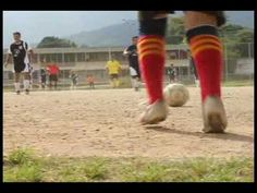 "Authentic Video; emphasizes the importance of soccer in Spanish culture. ""El Fútbol es..."""